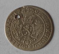 Čechy – Praha 3 Krejcar 1706 Josef I., dirka