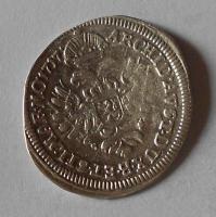 Čechy – Praha 3 Krejcar 1717 Karel VI.