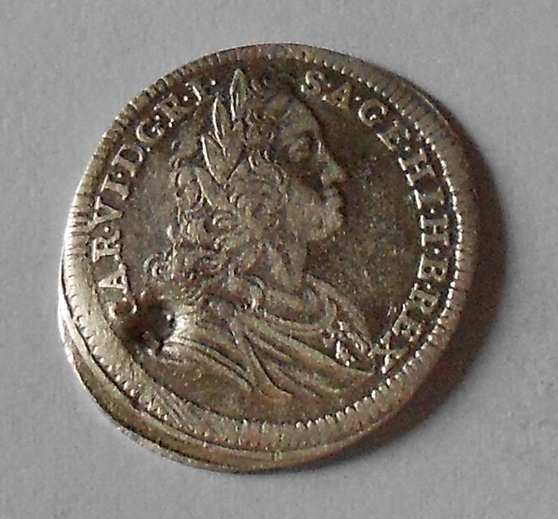 Čechy – Praha 3 Krejcar 1723 Karel VI., dirka