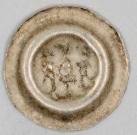 Český Brakteát s orlicí, Václav II. (1278-1305), 0,41g