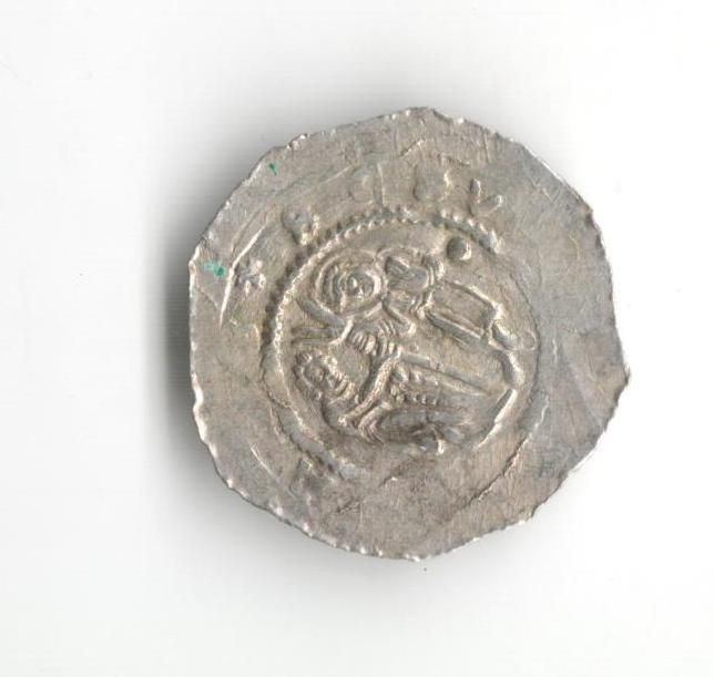 Denár, kníže a král Vladislav II. (1140-1172), Cach 587