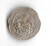 Denár, kníže a král Vladislav I. (1109-1125), Cach 557