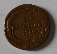 Rakousko 1 Krejcar 1780 H Marie Terezie