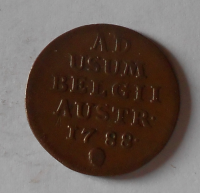 Rakousko 1 Liard 1798 Josef II.