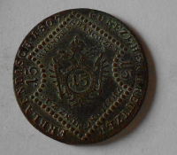 Rakousko 15 Krejcar 1807 A František II.