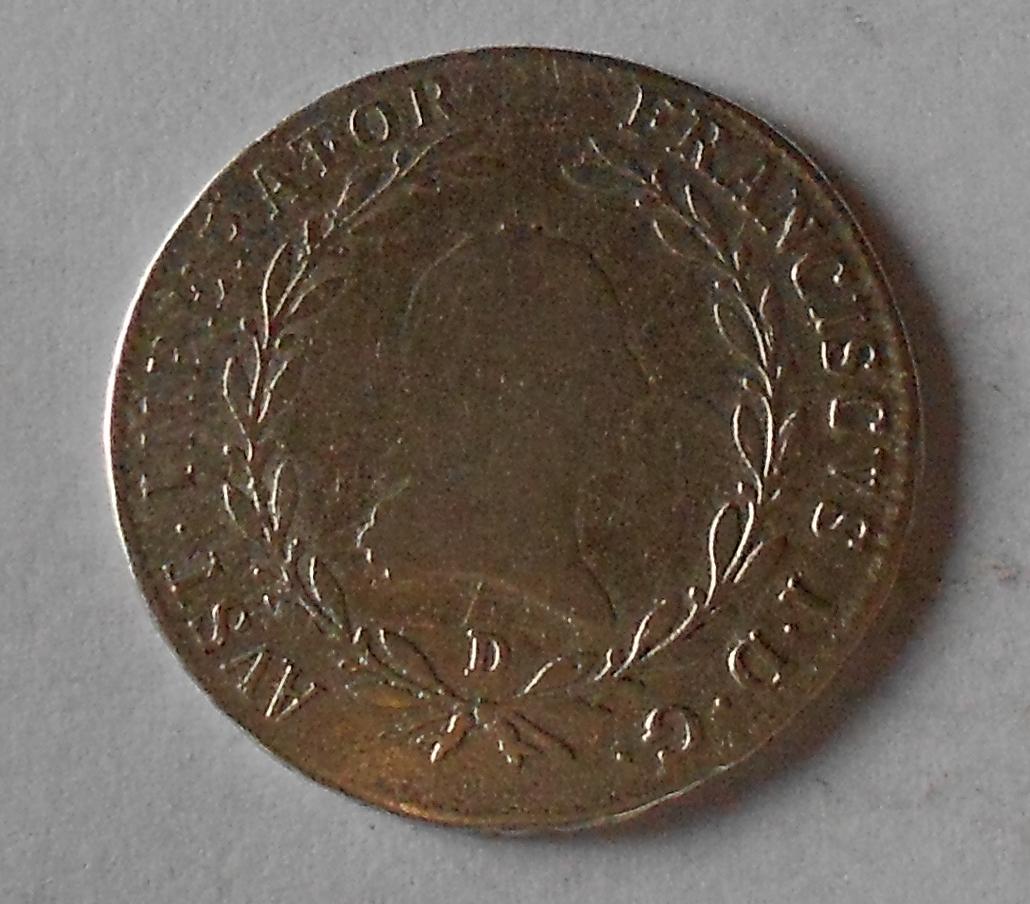 Rakousko 20 Krejcar 1809 D František II.
