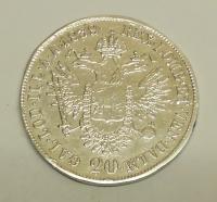 Rakousko 20 Krejcar 1838 A Ferdinand V., obroušená hrana