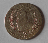 Rakousko – Halle 20 Krejcar 1778 Marie Terezie