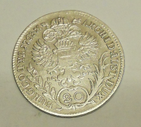 Rakousko – ICSK 20 Krejcar 1768 Marie Terezie