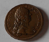 Rakousko – Vídeň 1 Krejcar 1762 František Lotrinský