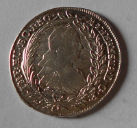 Rakousko – Vídeň 20 Krejcar 1774 Marie Terezie