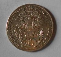 Rakousko – Vídeň 20 Krejcar 1777 Marie Terezie