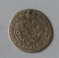 Rakousko – Vídeň 3 Krejcar 1716 Karel VI., dirka