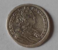 Rakousko – Vídeň 3 Krejcar 1726 Karel VI.