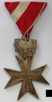 Rakousko Záslužný kříž 200 Koruna, stř. stupeň
