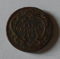 Uhry 1 Krejcar 1763 K Marie Terezie