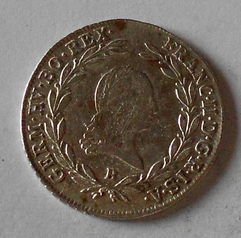 Uhry 20 Krejcar 1803 B František II.