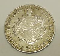 Uhry 20 Krejcar 1840 B Ferdinand V.