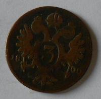 Uhry 3 Krajcar 1800 B František II.