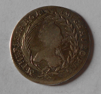 Uhry – Kremnica 20 Krejcar 1763 Marie Terezie