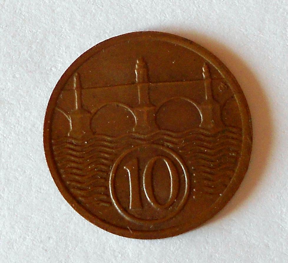 ČSR 10 Haléř 1932, pěkný