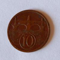 ČSR 10 Haléř 1933