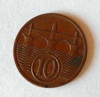 ČSR 10 Haléř 1937