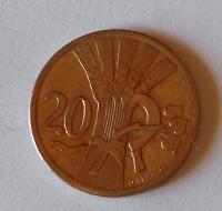 ČSR 20 Haléř 1924, stav