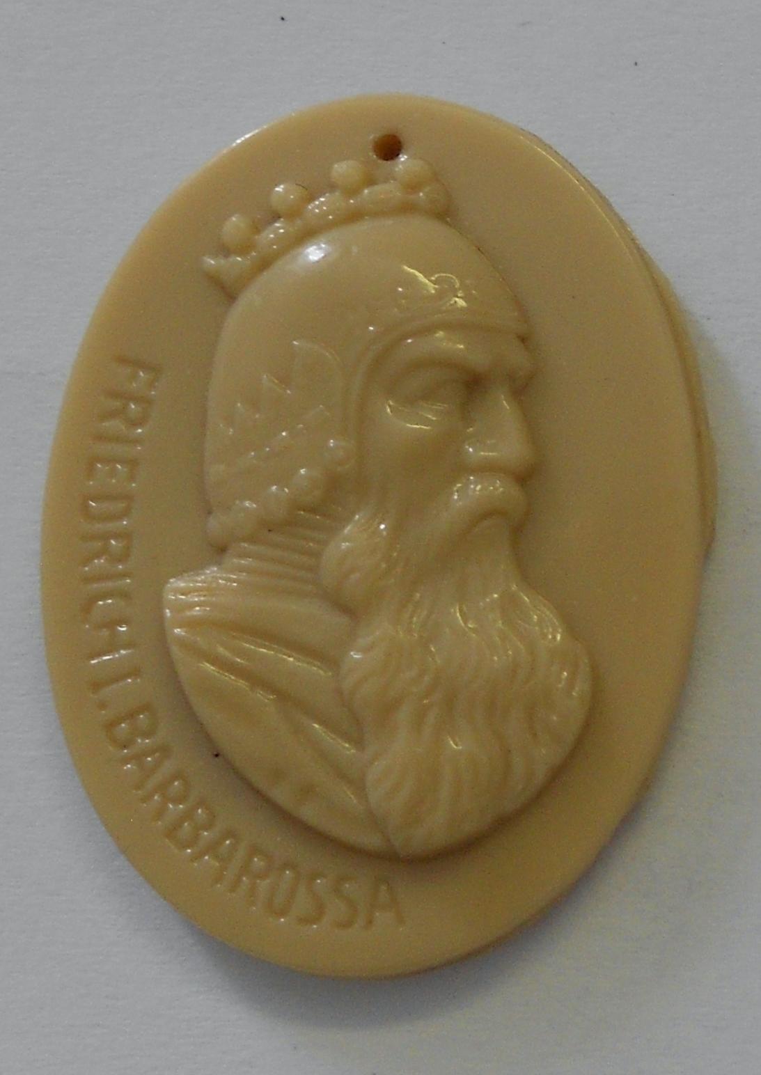 Německo III. říše Fridrich Barbarosa Zimní pomoc, porcelán