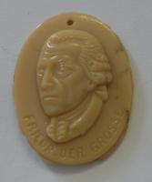 Německo III. říše Frieder Grosse Zimní pomoc, porcelán