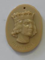 Německo III. říše Heinrich I. Zimní pomoc, porcelán