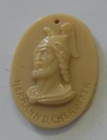 Německo III. říše Král Herman Zimní pomoc, porcelán