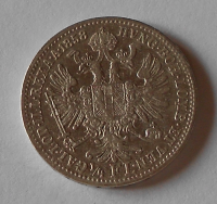 Rakousko 1/4 Zlatník/Gulden 1858 A