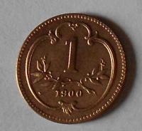 Rakousko 1 Haléř 1900