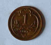 Rakousko 1 Haléř 1901