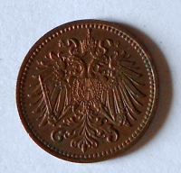 Rakousko 1 Haléř 1909, pěkný
