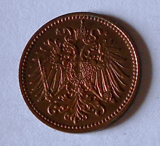 Rakousko 1 Haléř 1913, pěkný