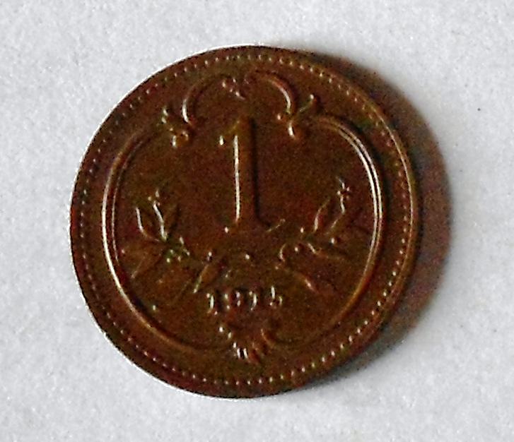 Rakousko 1 Haléř 1915, pěkný