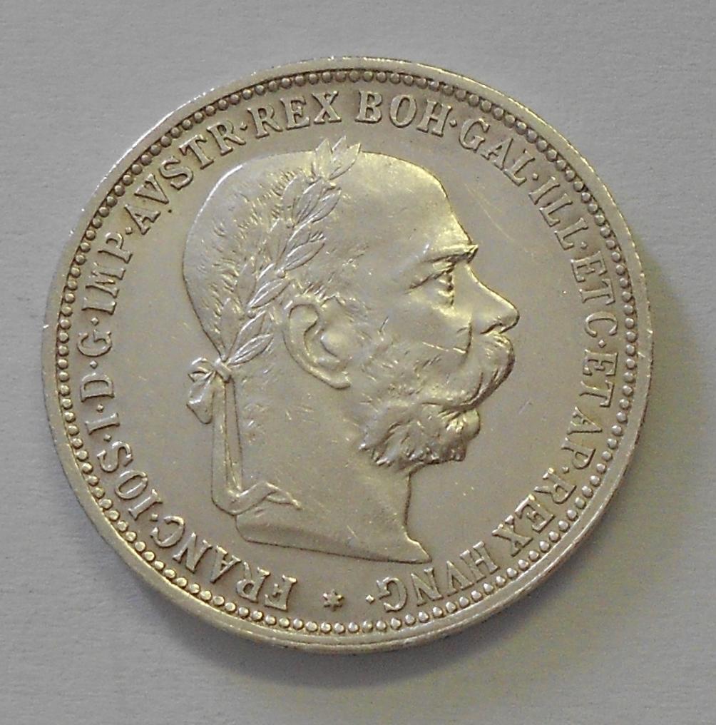 Rakousko 1 Koruna 1893