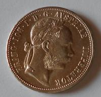 Rakousko 1 Zlatník/Gulden 1879, pěkný