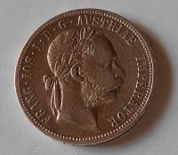 Rakousko 1 Zlatník/Gulden 1888