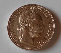 Rakousko 1 Zlatník/Gulden 1888, stav