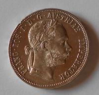 Rakousko 1 Zlatník/Gulden 1891