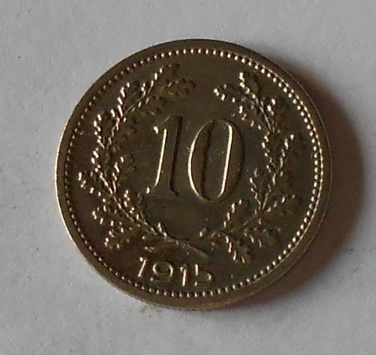 Rakousko 10 Haléř 1915