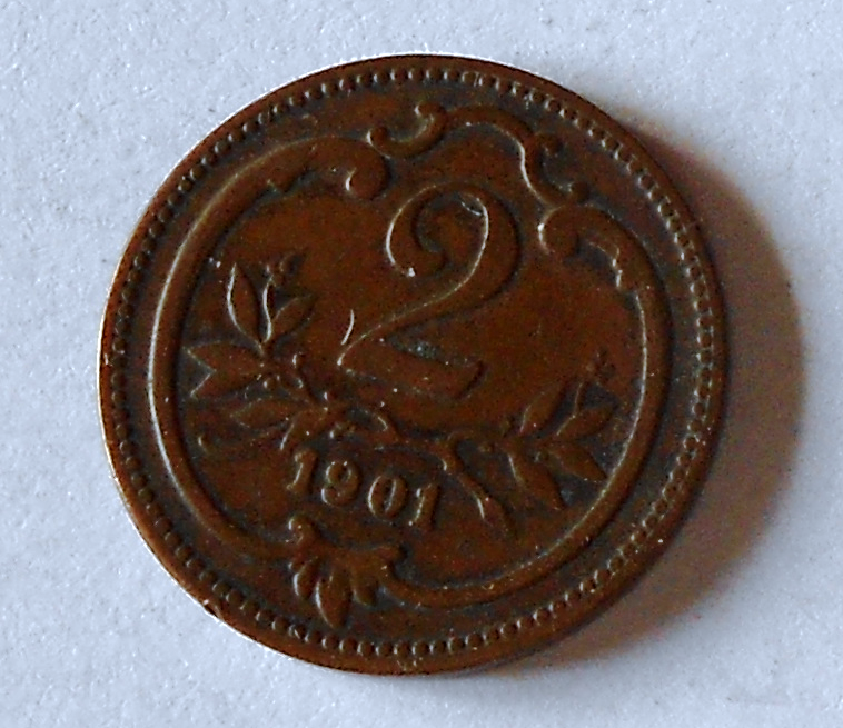 Rakousko 2 Haléř 1901