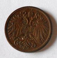 Rakousko 2 Haléř 1904