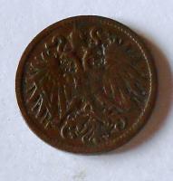 Rakousko 2 Haléř 1906