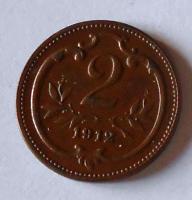 Rakousko 2 Haléř 1912
