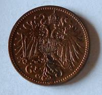 Rakousko 2 Haléř 1913, pěkný