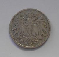 Rakousko 20 Haléř 1893